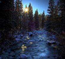 Icebound Glimmer by Chris Chamberlain