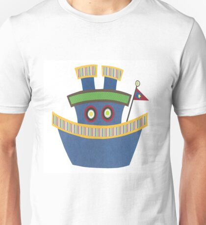 Kids Tugboat Unisex T-Shirt