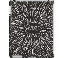 Whatever Will Be, Will Be (Black & White Palette) iPad Case/Skin