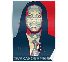 #WakaForAmerica 2 Poster