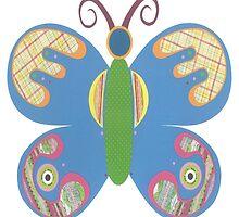 Paper Butterfly by ZaMoArts
