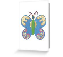 Paper Butterfly Greeting Card