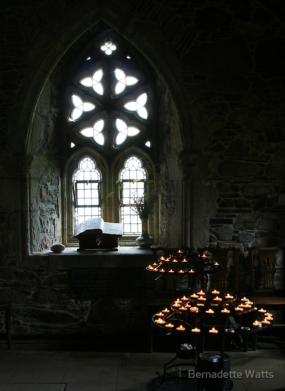 Place of Prayer - Iona by Bernadette Watts