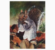 Grey Squirrel Kids Clothes