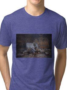 Ancient Indian canon  Tri-blend T-Shirt