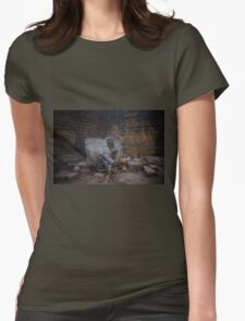 Ancient Indian canon  Womens Fitted T-Shirt