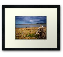 Inverness Beach Framed Print