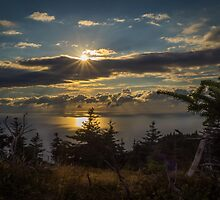 Skyline Trail Sundown by mlphoto