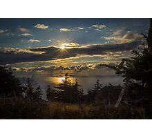 Skyline Trail Sundown Photographic Print