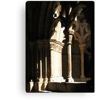 The cloister Canvas Print