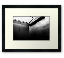 Steel & Elevators Framed Print