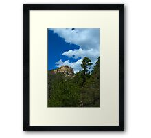 The Beauty of Mt. Lemmon Framed Print