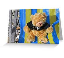 Arthur Relaxing at Beer Harbour... Greeting Card