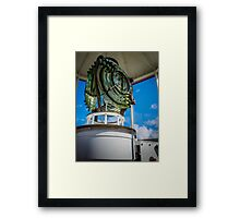 Dingwall Lighthouse Lamp Framed Print