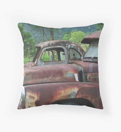 Rusty And Me Throw Pillow