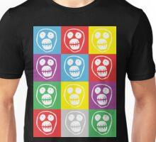 Mighty Boosh Face Warhol Style - White Unisex T-Shirt