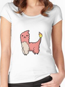Alpacamon - Charmeleon Women's Fitted Scoop T-Shirt