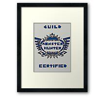 Guild Certified Framed Print