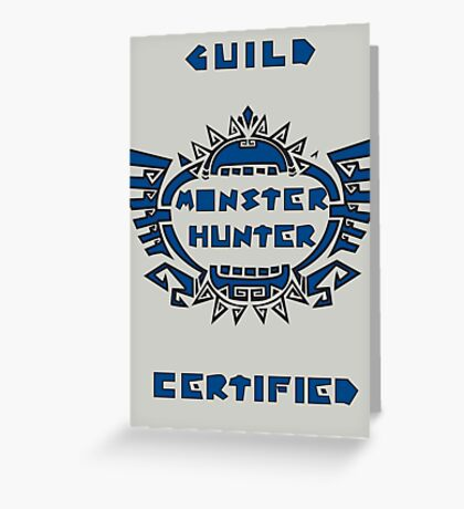 Guild Certified Greeting Card