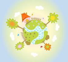 green planet by ativka
