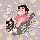 Cookie Cat is a Bad Guy! by reapersun