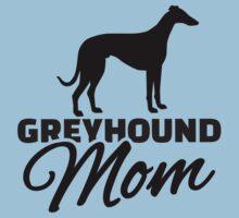 Greyhound Mom Kids Tee