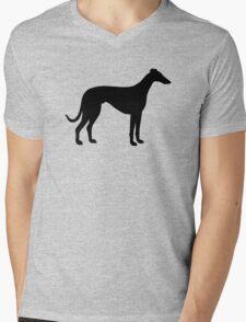 Greyhound Mens V-Neck T-Shirt