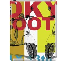 Tokyo Scooter Rally Poster  iPad Case/Skin