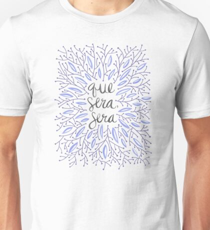 Whatever Will Be, Will Be (Lavender Palette) Unisex T-Shirt