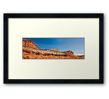 Arches Castle Panorama Framed Print