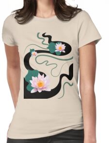lotus  Womens Fitted T-Shirt