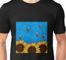 Sunflower Bee Trails T-Shirt