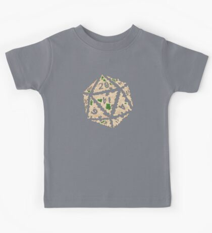 Here Be Dragons Kids Tee