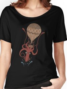 Around the World in 20,000 Leagues Women's Relaxed Fit T-Shirt