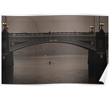 Princes Bridge Poster