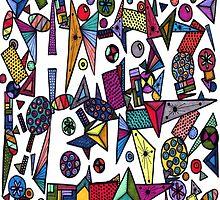 Happy Birthday Hidden by ZaMoArts