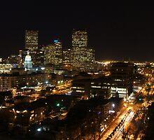 Denver By Night by stevebrittain