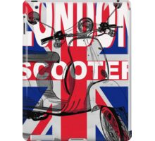 London Scooter Rally iPad Case/Skin