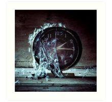 Clocks and Clocks Art Print