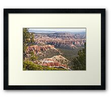Bryce Canyon National Park Views Framed Print