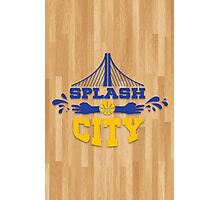 Splash City Hardwood Photographic Print