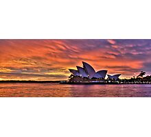 Greeting The Morn- The Photographers Cut  - Moods Of A City - The HDR Series Photographic Print