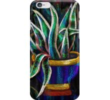 Mother-in-Law's Tongue: Fractal Botanical by Alma Lee iPhone Case/Skin