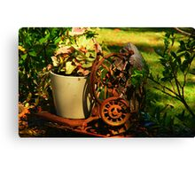 Sewing Plants Canvas Print