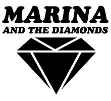 MARINA & THE DIAMONDS LOGO by katkouture