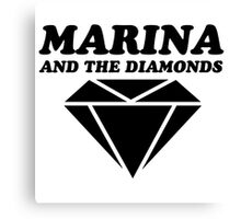 MARINA & THE DIAMONDS LOGO Canvas Print