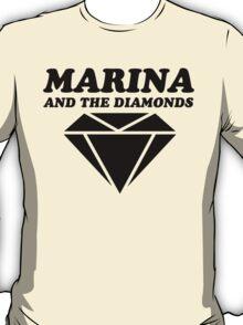 MARINA & THE DIAMONDS LOGO T-Shirt
