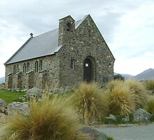 Church of the Good Shepherd, Lake Tekapo, NZ by skyhorse