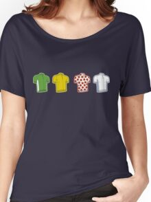 Colours of the TDF Women's Relaxed Fit T-Shirt