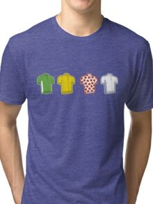 Colours of the TDF Tri-blend T-Shirt